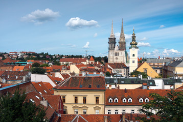 Zagreb_Croatia_view from upper town