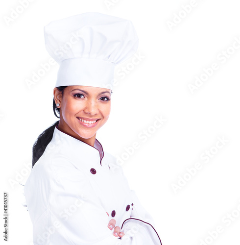 Chef woman. - 41045737