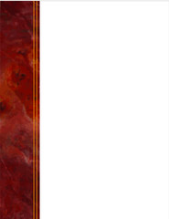Red Marble Border, copy space for poster, notice, announcement