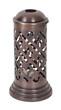 Intricate Dark Brass Candle Holder
