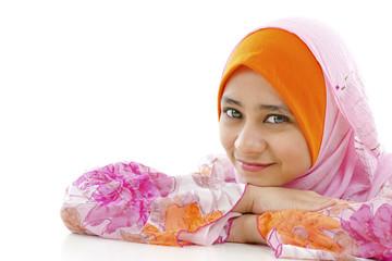 Pretty Muslim Woman