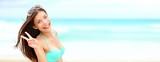 letní dovolená banner