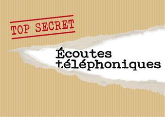 Dossier Ecoutes telephoniques