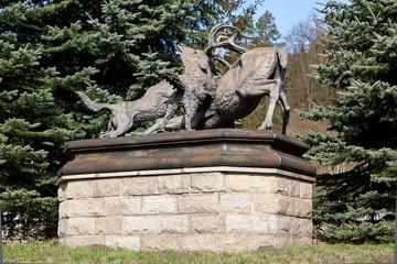 Denkmal in Mägdesprung
