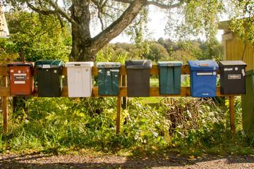 Swedish Letter Boxes