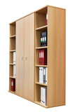 Fototapety bookcase with folders