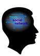 Social Media im Kopf