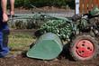 Bodenbearbeitung im Garten, Fräse