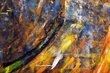 grunge paintings