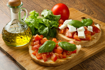 bruschette all'italiana