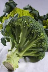 Broccoli e cavolfiore romano