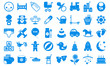 Set child icons blue tones.