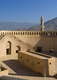 Fort of Nizwa, Oman. Middle East poster