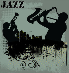 Jazz music background © creative4m