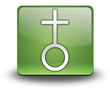 "Green 3D Effect Icon ""Church"""