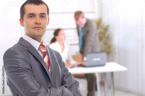 Portrait of confident business man