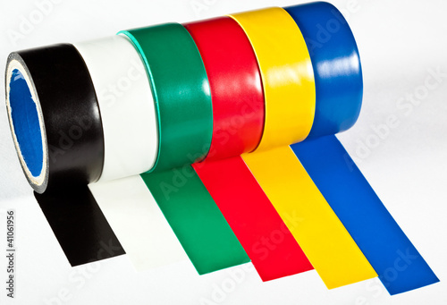 Rolls of insulation adhesive tape