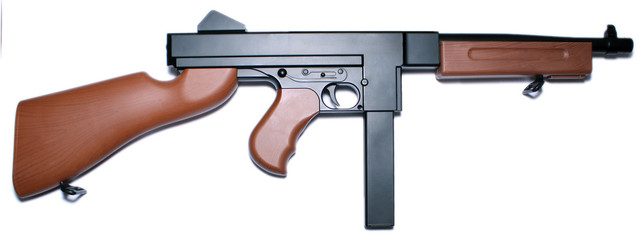 Thompson submachine gun - airsoft replica