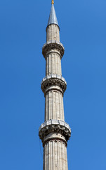 The Minaret of Selimiye Mosque, Edirne.