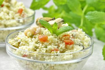couscous con frutti di mare