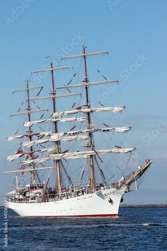 sailing ships (worldwide parade of sailing ships in Warnemunde -