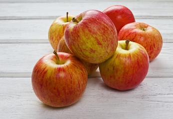 Royal gala apples (Malus domestica)