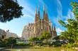 Leinwanddruck Bild - La Sagrada Familia, Barcelona, spain.