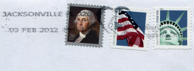 Mail stamp