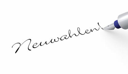 Stift Konzept - Neuwahlen!