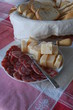 Parma cheese and salumi for party