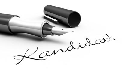 Kandidat! - Stift Konzept