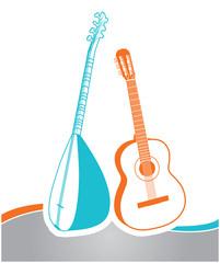 Bağlama Saz ve Gitar