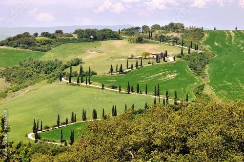 canvas print picture Tuscany, la Foce