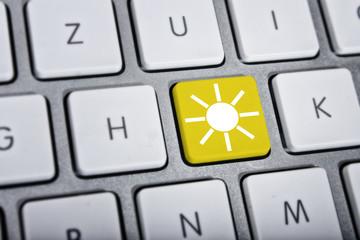 Sonne auf Knopfdruck