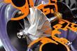 Schnittmodell eines Turboladers