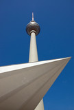 View of Berlins television tower