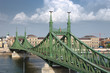 Budapest, Liberty Bridge On Danube River