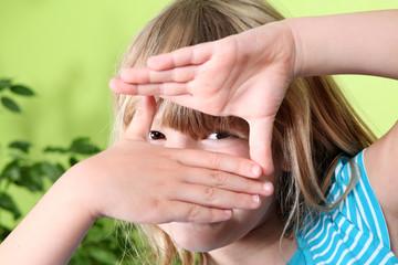 Focus Fingerrahmen | Blickwinkel | Hand Symbol