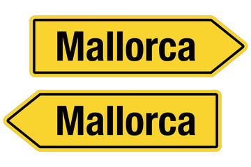 2 Pfeilschider gelb MALLORCA