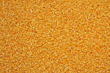 Cane brown sugar, granulated sugar