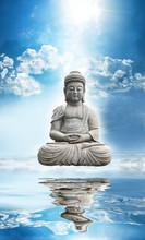 Standbeeld Bouddha