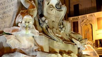 Mascherone Fontana della Piazza della Rotonda