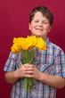 Tulpen ... die schenke ich Dir