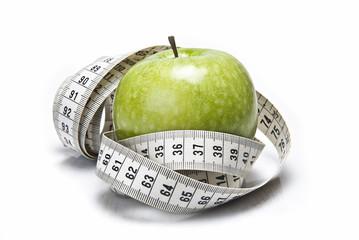 Una manzana, la dieta más sana.