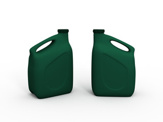 green canister