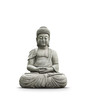 Leinwanddruck Bild - Statue Bouddha