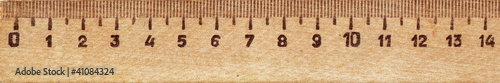 The background of the wooden ruler