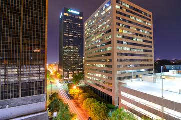 Urban Scene in downtown Birmingham, Alabama, USA