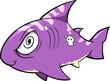 Crazy Shark Illustration