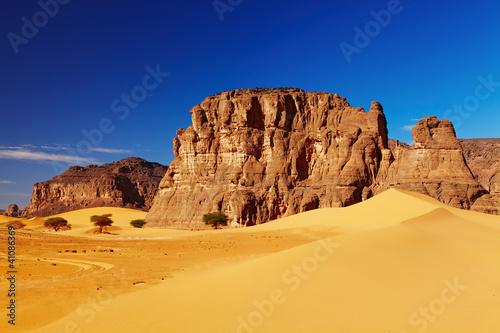Fototapeten,algeria,ocolus,fels,sahara